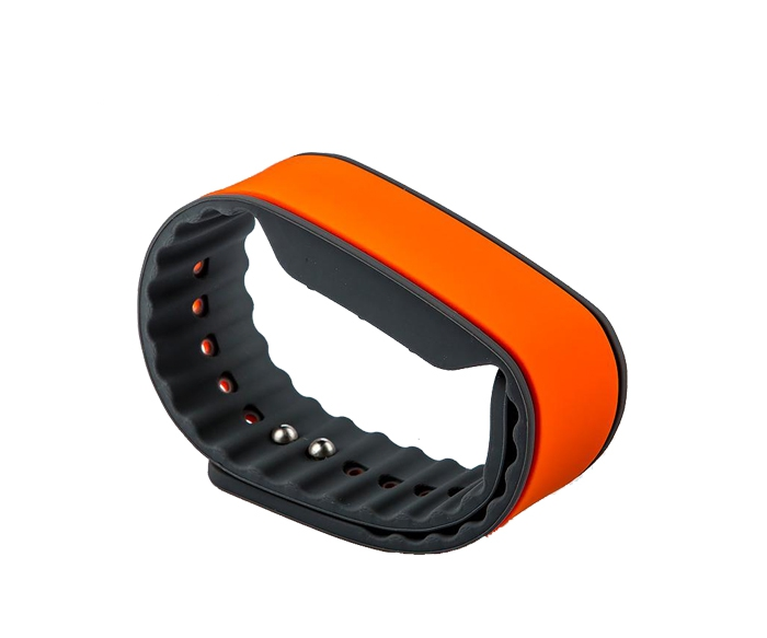 860-960Mhz UHF RFID Silicone Wristband with Alien H3 chip