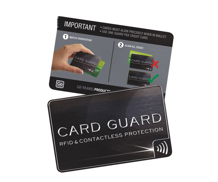 RFID Card Guard Anti skimming credit card blocker