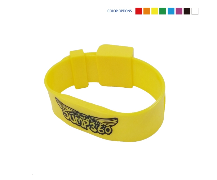 TPU Material Passive Prison RFID Wristband with Magnetic Locks